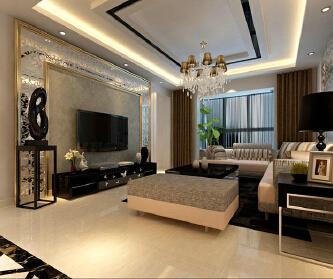 上海160平米,三居室装...