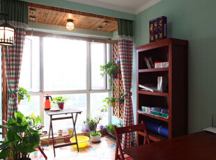 田园三居-95平三居阳光海岸 温馨小屋