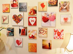 【鸿艺源设计分享】把满满的回忆挂在墙上,艺术照片墙欣赏