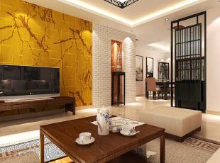 徜徉集-中式两居-北京城建·徜徉集83平二居