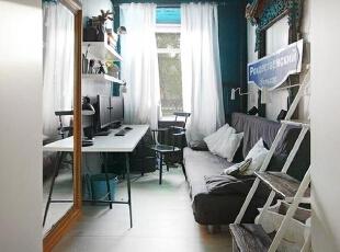 混搭一居-二手房也可以有风格