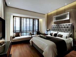 惠州央筑花园-新古典三居-惠州央筑花园中式风格样板房室内设计