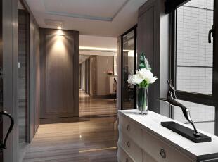 中洲央筑花园-新古典一居-中洲央筑花园新古典风格样板房室内设计