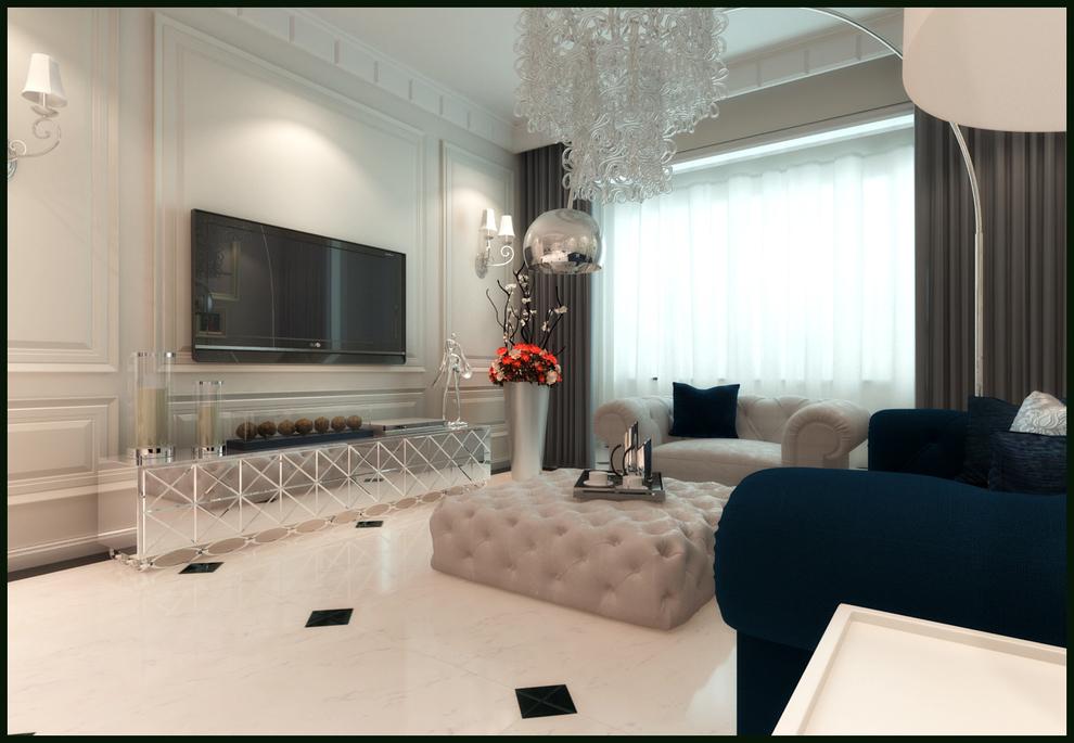 0平米两居欧式风格-谷居家居装修设计效果图