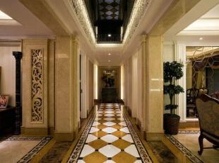 南湖国际设计-欧式四居-南湖国际欧式风格