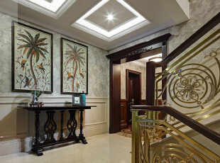 水岸新都-美式别墅-无锡吉友洪设计