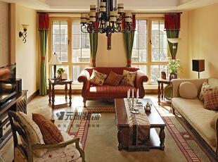原河名墅-美式别墅-原河名墅5期设计 自由美国时代