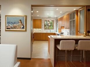 开放式厨房用折叠门怎么样?厨房折叠门效果图