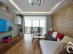 简约两居-住新家,学种菜,两房两厅+20㎡院子