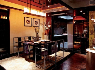 ,餐厅,现代,