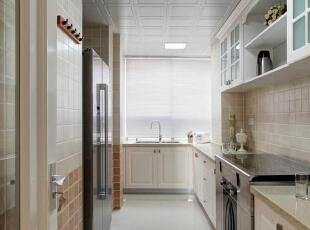 ,厨房,130平,白色,三居,欧式,15万,