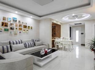 ,客厅,15万,三居,130平,白色,欧式,