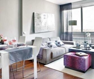 粉紫调 45平米时尚公寓...
