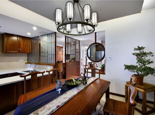 ,150万,中式,原木色,别墅,餐厅,280平,