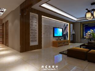 ,185平,35万,中式,三居,客厅,