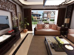 ,装修公司,超高性价比,别墅,30万,220平,效果图,中式,实木家具,大气装修,中式风格,