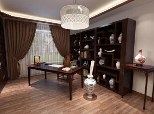 ,220平,大气装修,超高性价比,30万,中式,装修公司,效果图,中式风格,别墅,实木家具,