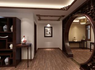 ,大气装修,中式,装修公司,实木家具,超高性价比,30万,220平,效果图,别墅,中式风格,