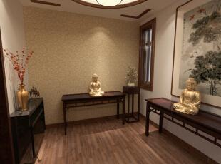 ,中式风格,中式,220平,效果图,装修公司,30万,别墅,实木家具,超高性价比,大气装修,