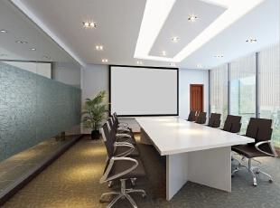 会议室,700平,85万,现代,公装,简约,白色,红色,原木色,黑白,