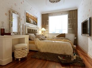 ,效果图,现代,四居,卧室,8万,190平,
