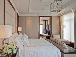 ,小资,卧室,白色,