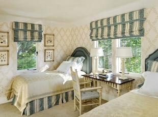 田园风格卧室如何设计?田园风格卧室效果图赏析
