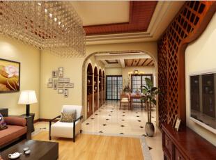 ,效果图,清新,大气装修,45万,300平,东南亚风格,实木家具,超高性价比,装修公司,别墅,