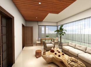 ,清新,实木家具,别墅,东南亚风格,300平,装修公司,效果图,超高性价比,大气装修,45万,