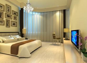 卧室窗帘什么颜色好?卧室窗帘装修效果图