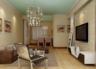 客厅灯哪个牌子好?客厅灯饰效果图集锦