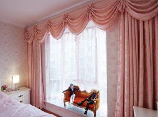 金竹苑130平简欧风格浪漫温馨三居室装修实景图