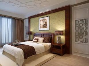 天山星城三居室新中式风格装修
