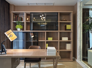 现代四居-23万全力打造160平四房现代时尚公寓实景装修案例