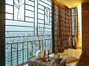 现代三居-16万打造上海徐汇125平三居现代时尚温馨雅居