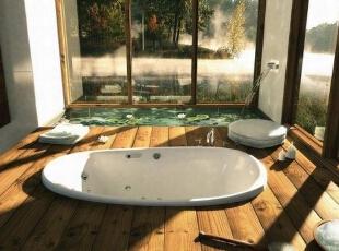 一些浴室设计分享,让你每天就像在做spa