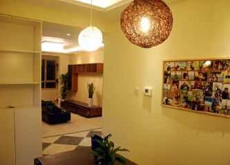 三居室现代简约风格老房改造装修