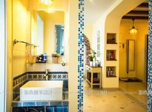 泰福苑小区-地中海三居-七九八零装饰设计田园与地中海的碰撞
