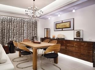 新古典三居-上海杨浦区135平时尚新古典主义优雅公寓