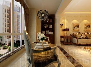 国仕山-欧式四居-【国仕山】国仕山二期200平4室2厅欧式古典风格装修设计效果