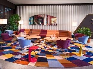 瑞士25小时四星级精品酒店设计 体验色彩与图案的魅力