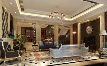 重庆东原香山联排别墅美式设计