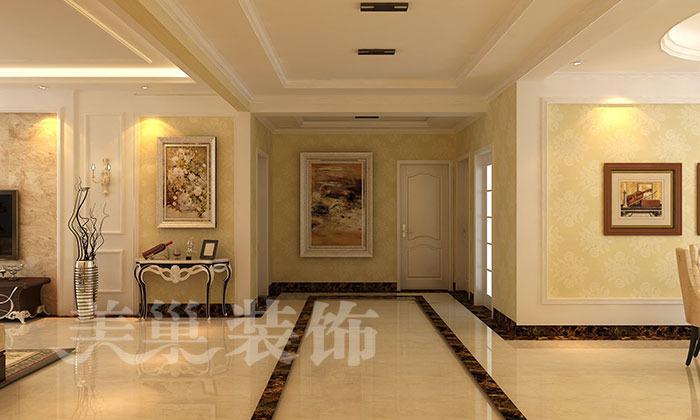 财信圣堤亚纳188四室两厅简欧风格装修效果图,现代简欧风格即拥有了