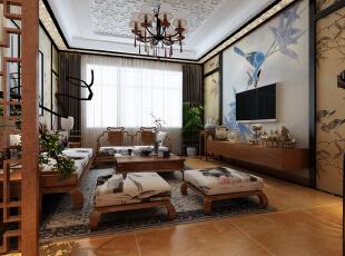 中旅国际小镇-中式两居-水墨风格 传统古典中式风格