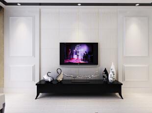 君澜实木集成墙面 实木背景墙 电视背景墙图片