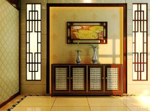 中式三居-简中式