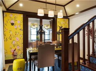 望京金茂府-混搭三居-两代人的爱居所 东南亚异域风格