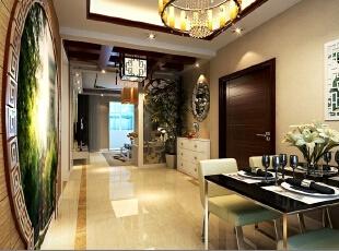 中式三居-上海实创装饰打造140平新中式婚房装修温馨大气不老气
