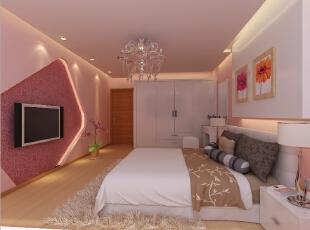 上海小区-简约两居-89平浪漫婚房