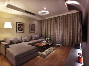 玉泉新城-现代两居-北京美女15万精心打造94平简约婚房